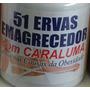 51 Ervas Com Caraluma 500mg/60 Capsulas Produto Natural