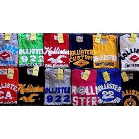 3 Camisas Masculina Hollister, Abercrombie, Aeroposta Atacad