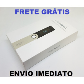 Ledger Nano S Original Nova Lacrada Wallet Criptomoedas