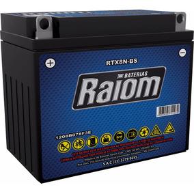 Bateria Raiom Rtx8n-bs - Joto 125 / V-blade / Hb125-9