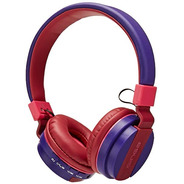 Audifono Dj Bluetooth Hf C/radio Urban Rosa-morado Tm