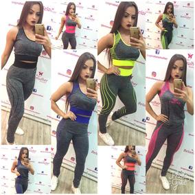 Conjunto Roupa Fitness Para Academia -calça Blusa