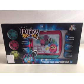 Projetor De Imagens Divertida Furby Boom E Acessórios Rosa *