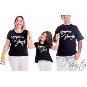 Kit Familia Sempre Juntos - Pai , Mãe E Filha Ou Filho