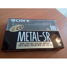 Cassettes Virgen Metal Sony