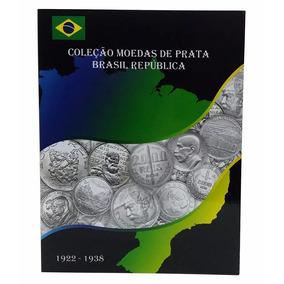 Álbum Porta Moedas De Prata Brasil - República (1922 - 1938)