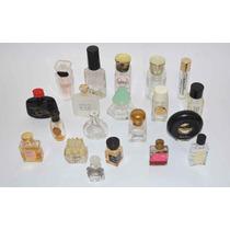 Frascos Perfume Miniatura Original Colección Colecciónables