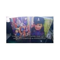 Caderno 1 M + Adesivos + Poster Demi Lovato