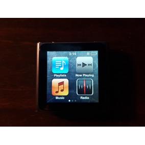 Ipod Nano 6ta Gen 8gb Funciona Perf. Color Gris + Accesorios