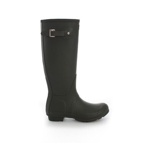 Bota De Lluvia Alta Hunter Original Tall Negro