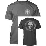 Camiseta Chris Kyle American Sniper Seal Skull Única E Exclu