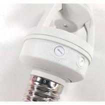 Sensor De Presença Soquete E27 Lâmpada Iluminação Ate 16w