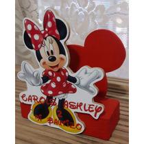 Servilletero Minnie Mouse, Mimi. Dulceros, Centro De Mesa