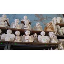 30 Angelitos En Ceramico En Blanco Para Pintar