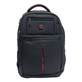 Mochila Escolar Swissbrand Original Backpack Negra Sbx-00068
