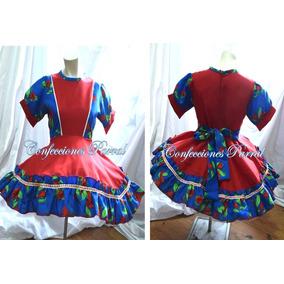 Vestido De Huasa Hermosos Modelos Falso Incluido