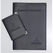 Kit Mitsubishi Porta Manual E Porta Documentos