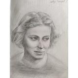 Retratos Dibujo Realista; Lápiz, Carboncillo, Pastel, Etc.