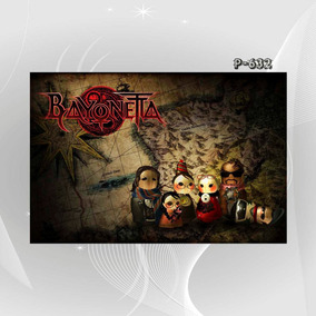 Poster Filme Seriado Acao Game T1q Bayonetta Decor Casa Sala