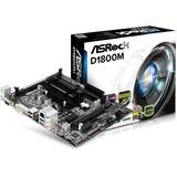 Combo Tarjeta Madre Procesador Intel Dualcore Asrock D1800m