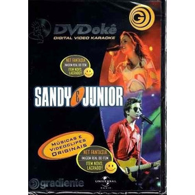 Dvd Okê Sandy E Junior Gradiente Dig Dig Joy Karaoke