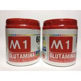 Glutamina 300 Gramos M1 - 2 Unidades - 600g -aminoacidos