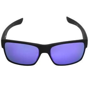 f5b9c3ee5992e Óculos Oakley Crankcase Matte Black Violet Iridium - Óculos De Sol ...