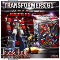 Transformers G1 Invitaciones Kit Imprimible Jose Luis
