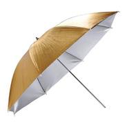 Sombrilla/paraguas Godox 101 Cm  Dorado/plateado Reversible