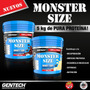 -20% Gentech Whey Protein 7900 Monster 5 Kilo Proteina Choco