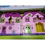 Casinha Boneca Infantil +acessórios+boneca Casa 48 X 25cm