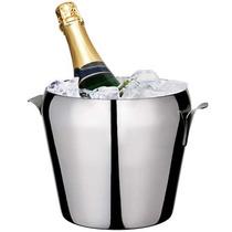 Balde Para Gelo / Champagne 4,7l De Aço Inox - Euro Home