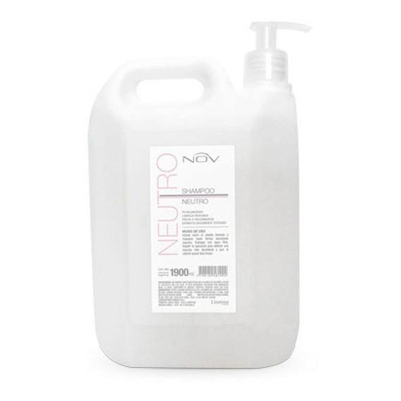 Shampoo Nov Neutro Alisados Peluqueria Uso Diario X 1900 Ml