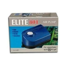 Bomba Aireadora Elite 801 Para Acuarios De 60 Litros