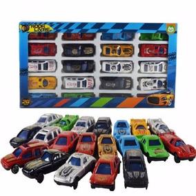 Coleção Carrinhos 20 Uni Brinquedos Presente Crianças
