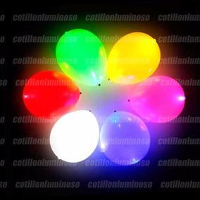24 Globos Con Luz Led Grandes 12 Para Fiestas Bodas 15 Años