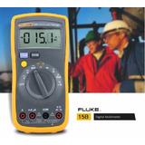 Fluke 15b+ Multimetro Digital Profesional Multitester