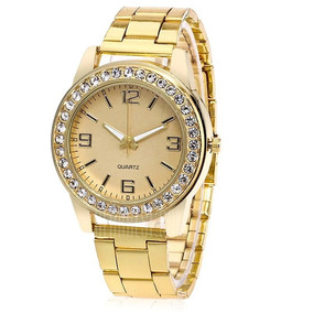 63950ccacdd Relógio Pulseira Quartz Perola Artificial Importado + Frete ...