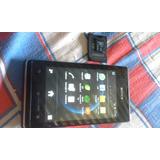 Vendo Selular Sony Xperia E Mas Tarjeta De Memori De 4 Gb