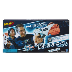 Lanzador Nerf Laser Ops 2 Pack