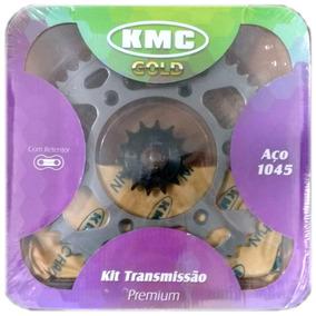 Kit Relação Yamaha Fazer 250 Kmc Gold Completo C/ Retentor