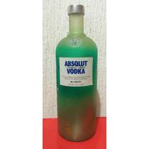 Botella De Absolut Vodka Unique. Edición Limitada Y Seriada
