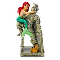 Penn-plax Disney Adorno Para Pecera De Ariel Con La Estatua