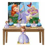 Princesinha Sofia Kit Festa Totens Display Painel Lt023p1