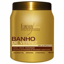 Banho De Verniz Creme Hidratante Máscara 1 Kg % Forever Liss