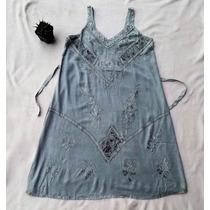 Vestido Vintage Hippie Anos 60