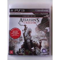 Assassins Creed 3 Ps3 Mídia Física Legendado Em Português Br