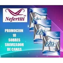 Nefertiti Promocion 10 Sobres Ablandador De Canas 10ml Knas