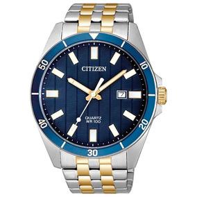 Reloj Citizen Original Para Hombre Date 2 Tone Bi5054-53l