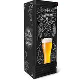 Cervejeira Refrigerador Geladeira Cerveja 400l Preta 220v